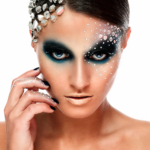 Maquillaje estudio de colores