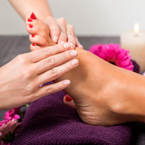 Servicios y cuidados de los pies